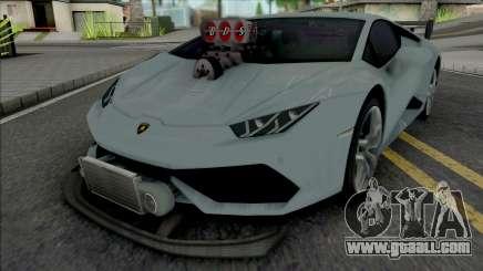Lamborghini Huracan Tuneado for GTA San Andreas