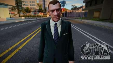 Niko Bellic Suit 1 for GTA San Andreas