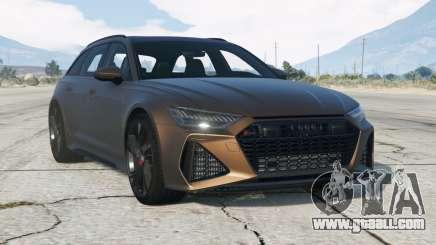 Audi RS 6 Avant (C8) 2019〡add-on v1.01 for GTA 5