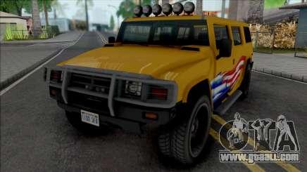 GTA IV Mammoth Patriot for GTA San Andreas