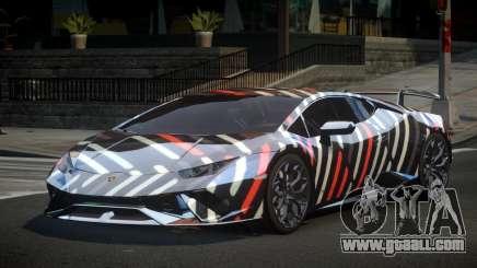 Lamborghini Huracan Qz S3 for GTA 4