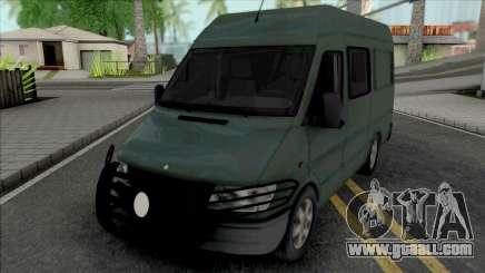 Mercedes-Benz Sprinter 1997 Security Van for GTA San Andreas