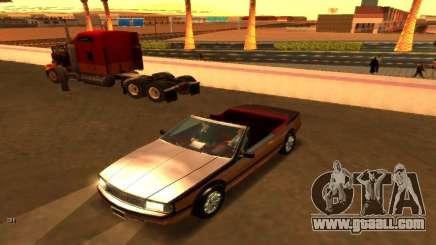 Cadillac Allanté Cabriolet 1990 (Updated) for GTA San Andreas