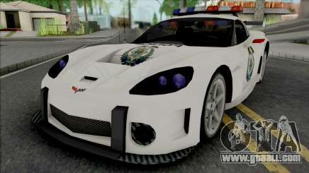 Chevrolet Corvette C6 RPD (NFS Most Wanted) for GTA San Andreas