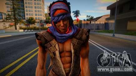 Prince Of Persia 4 Prince for GTA San Andreas