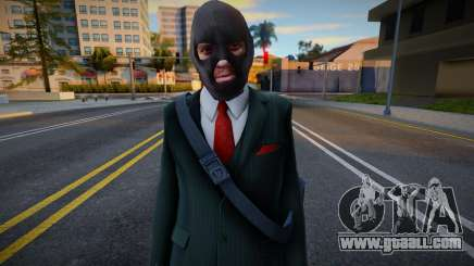 Niko Bellic Bankjob All for GTA San Andreas