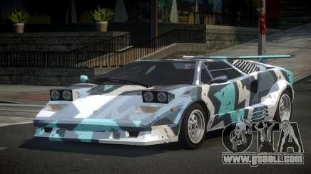 Lamborghini Countach 25th S9 for GTA 4