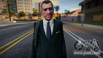 Niko Bellic Bag for GTA San Andreas