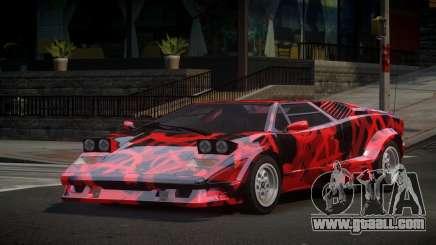 Lamborghini Countach 25th S7 for GTA 4