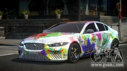 Jaguar XE Qz S10 for GTA 4