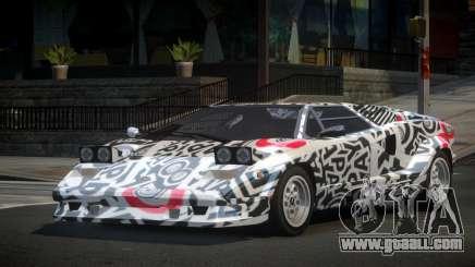Lamborghini Countach 25th S8 for GTA 4